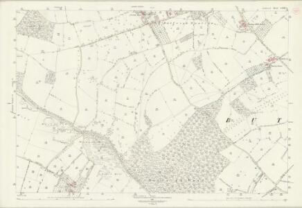 Somerset LXIII.3 (includes: Butleigh; Compton Dundon; Street) - 25 Inch Map