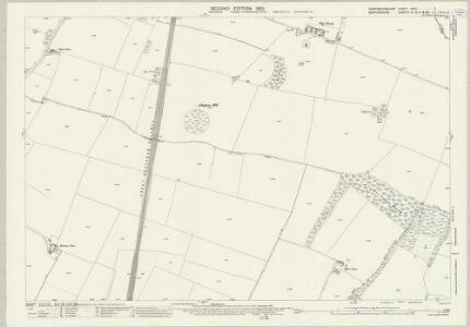 Huntingdonshire XXVII.7 (includes: Eynesbury Hardwicke; Little Barford; Tempsford; Tetworth) - 25 Inch Map