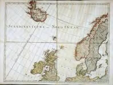 Karte von Europa, 1