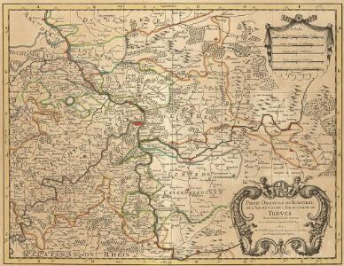Partie Orientale Du Temporel De L'Archevesché et Eslectorat, De Treves