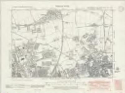 Northumberland nXCV.NW - OS Six-Inch Map