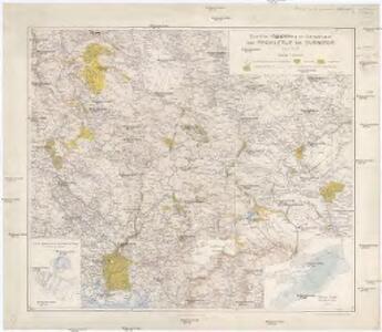 Eiszeitliche Vergletscherung der Gebirgsgruppen von Prokletije bis Durmitor