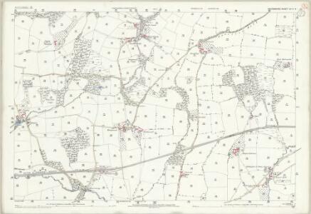 Devon XXIV.8 (includes: Bampton; Morebath) - 25 Inch Map