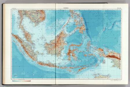 128-129.  Indonesia.  The World Atlas.