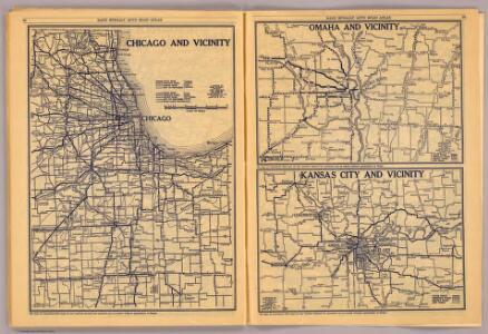 Chicago, Omaha, Kansas City.