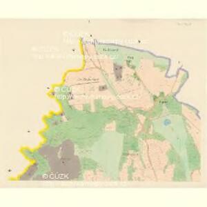 Jarowa (Garow) - c2781-1-001 - Kaiserpflichtexemplar der Landkarten des stabilen Katasters