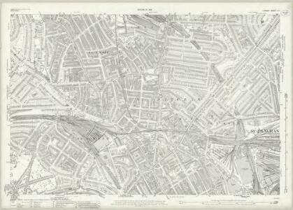 London (1915- Numbered sheets) V.1 (includes: Hampstead; St Pancras) - 25 Inch Map