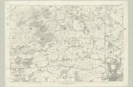 Surrey XXIII - OS Six-Inch Map