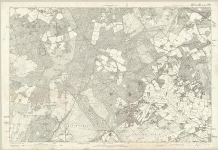 Berkshire XLVII - OS Six-Inch Map