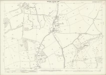 Hertfordshire VIII.10 (includes: Clothall; Rushden; Sandon; Wallington) - 25 Inch Map