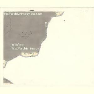 Ostrawitz - m2189-1-033 - Kaiserpflichtexemplar der Landkarten des stabilen Katasters