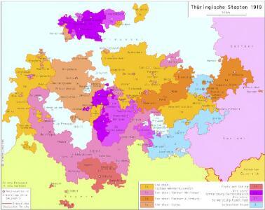 Thüringische Staaten 1919