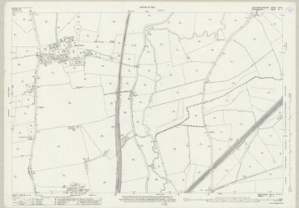 Northamptonshire LVIII.1 (includes: Banbury; Bourton; Chalcombe; Wardington) - 25 Inch Map
