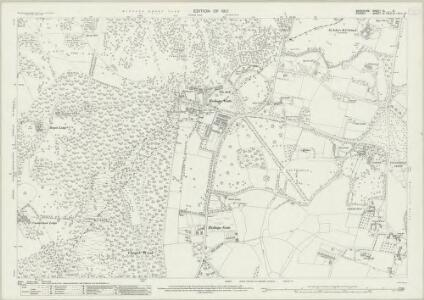 Berkshire XL.6 (includes: Egham; Old Windsor) - 25 Inch Map