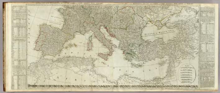 (Europe divided into its empires, kingdoms, states, republics, &c. Southern States)