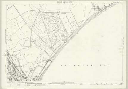 Dorset LIII.7 (includes: Weymouth) - 25 Inch Map
