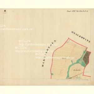 Piesling - m2287-1-003 - Kaiserpflichtexemplar der Landkarten des stabilen Katasters
