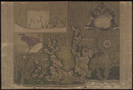 Algemeene kaart van de Colonie of Provintie van Suriname : met de rivieren, districten, ontdekkingen door militaire togten en de grootte der gemeeten plantagien