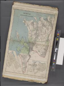Westchester, Double Page Plate No. 3 [Map of Towns of Westchester and Pelham] / prepared under the direction of Joseph R. Bien, from general surveys and official records.