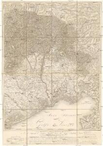 Carta topografica della provincia del Friuli