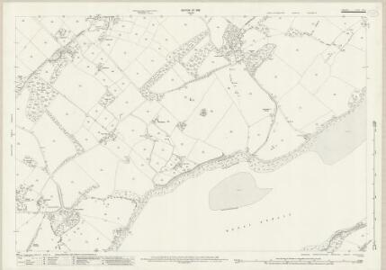 Anglesey XXIII.5 (includes: Llanddaniel Fab; Llanfair Is Gaer; Llanidan) - 25 Inch Map