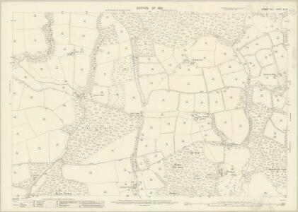 Sussex XI.12 (includes: Kirdford; North Chapel; Plaistow) - 25 Inch Map