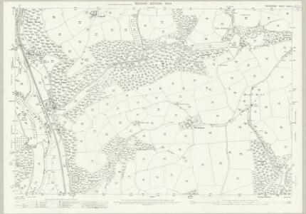 Devon XXXIV.11 (includes: Tiverton; Washfield) - 25 Inch Map