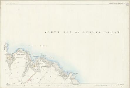 Yorkshire CXXIX.5 (includes: Flamborough) - 25 Inch Map