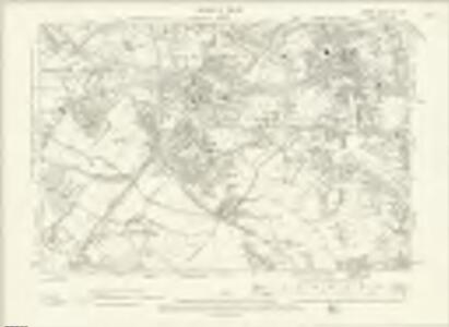 London XV.NW - OS Six-Inch Map