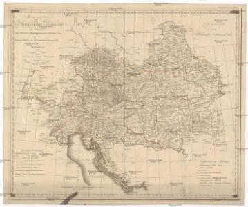 Allgemeine Charte der Österreichischen Monarchie