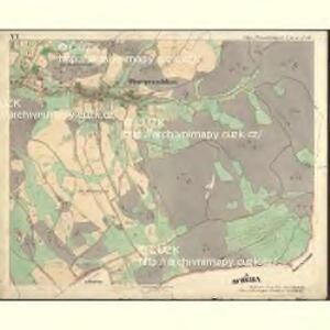 Ober Preschkau - c2126-1-006 - Kaiserpflichtexemplar der Landkarten des stabilen Katasters
