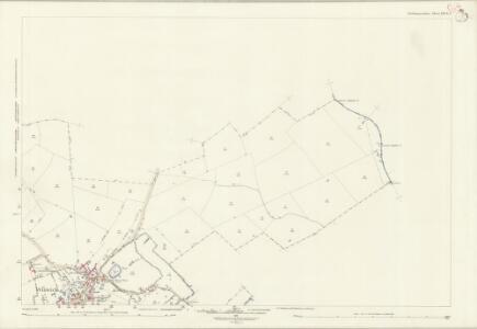 Northamptonshire XXVII.8 (includes: Great Gidding; Hamerton; Little Gidding; Luddington; Steeple Gidding; Winwick) - 25 Inch Map