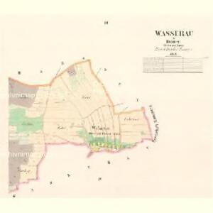 Wasserau - c5567-2-002 - Kaiserpflichtexemplar der Landkarten des stabilen Katasters