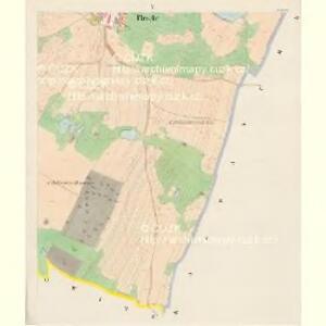 Plesche - c5827-1-005 - Kaiserpflichtexemplar der Landkarten des stabilen Katasters