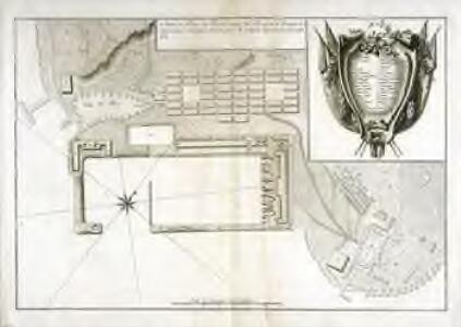 Mapa en plano del real arzenal del Ferrol