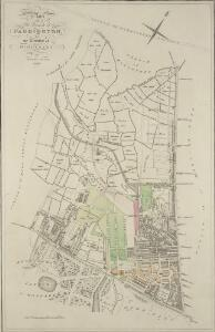 Plan of the parish of PADDINGTON in the County of Middlesex 7