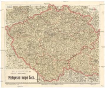 Mistopisna Mapa Cech