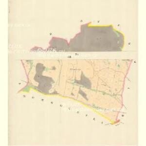 Chirles (Krchlowy) - m1362-1-006 - Kaiserpflichtexemplar der Landkarten des stabilen Katasters