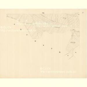 Chilitz (Chilice) - m1000-1-007 - Kaiserpflichtexemplar der Landkarten des stabilen Katasters