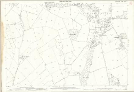 Shropshire XXVIII.2 (includes: Broughton; Hadnall; Myddle; Pimhill) - 25 Inch Map