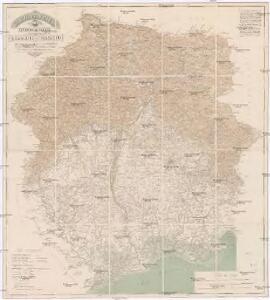 Carta del Friuli tra i fiumi Livenza ed Isonzo
