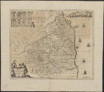Comitatus Northumbria vernacule Northumberland