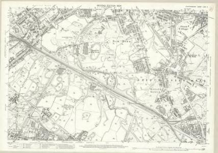Staffordshire LXVIII.9 (includes: Rowley Regis; Tipton; West Bromwich) - 25 Inch Map