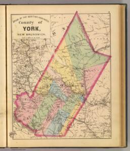 York Co., N.B.