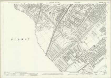 Kent VII.14 (includes: Croydon St John The Baptist; Penge) - 25 Inch Map