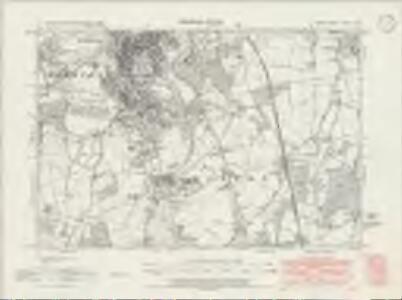 Surrey XXXIII.NE - OS Six-Inch Map