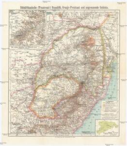 Südafrikanische (Transvaal-) Republik, Oranje-Freistaat und angrenzende Gebiete