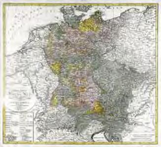General Karte vom Deutschen Reich