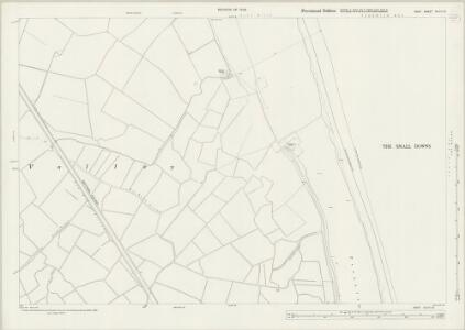 Kent XLVIII.12 (includes: Deal; Sholden; Worth) - 25 Inch Map