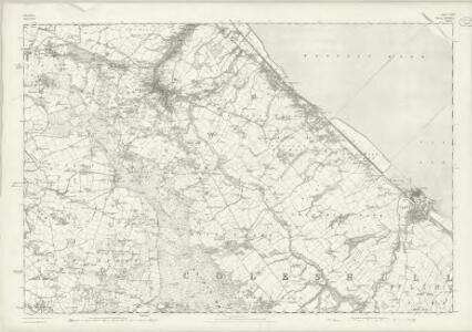 Cheshire XXXa - OS Six-Inch Map